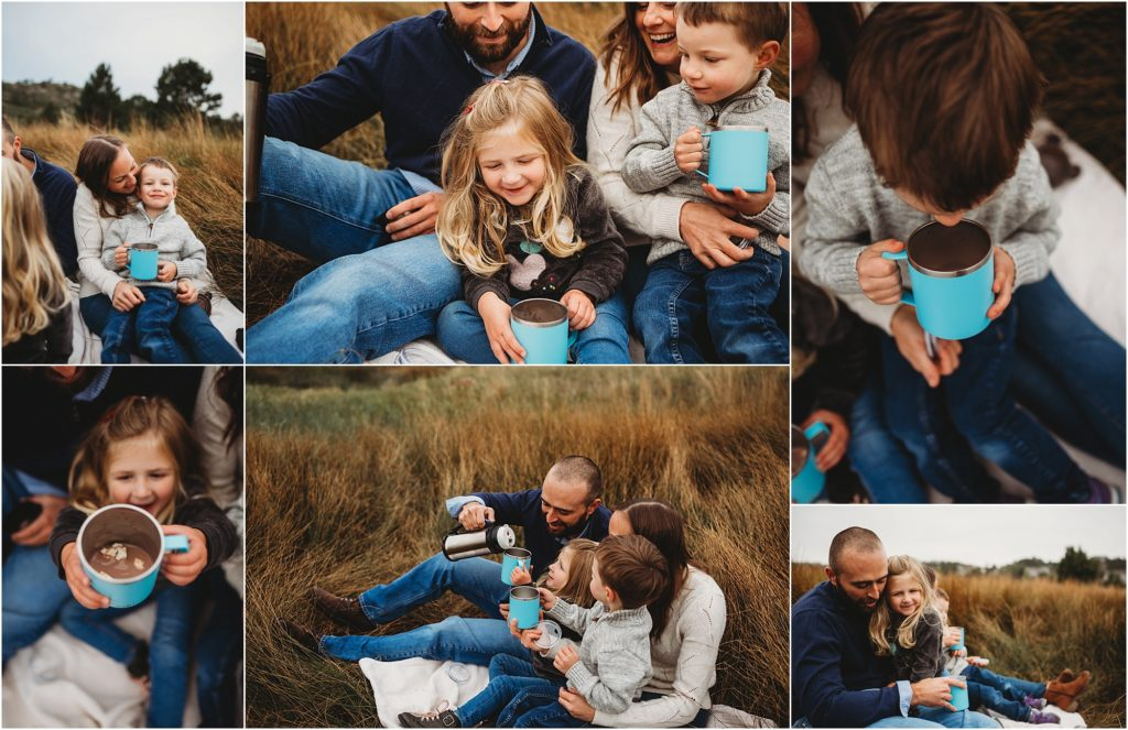 Family portraits with toddlers
